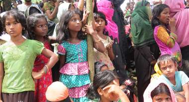 Rohingya Children