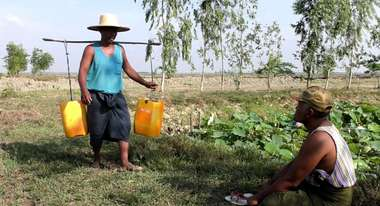 Water shortage in Myanmar