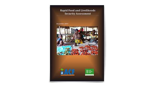 Cover: Rapid Food and Livelihoods Security Assessment