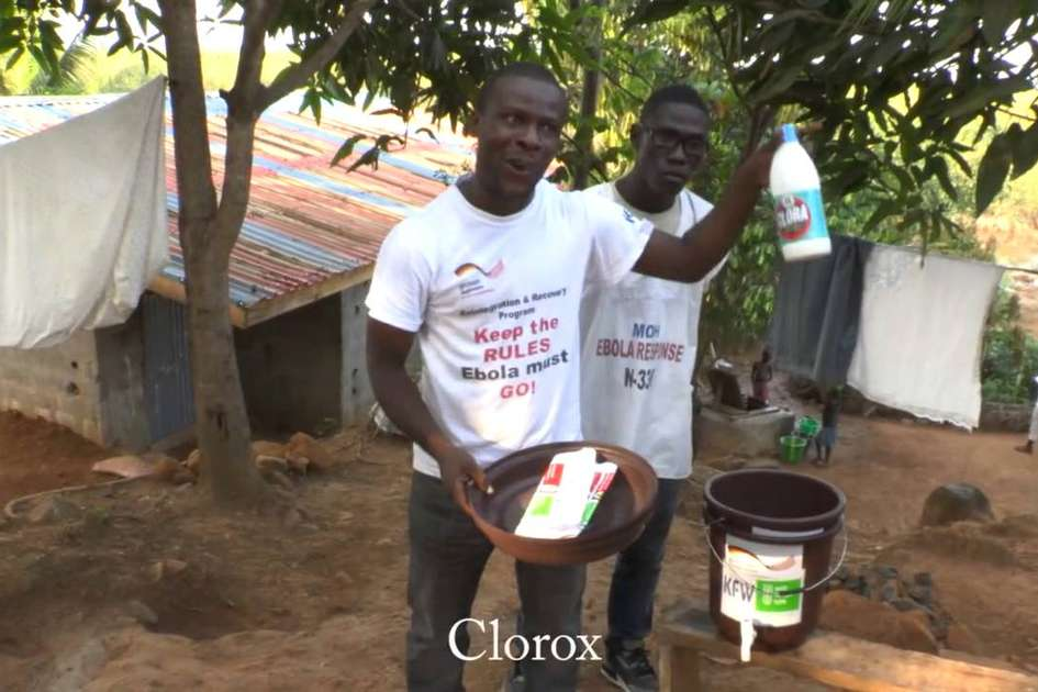 Ebola education in rural communities in Liberia