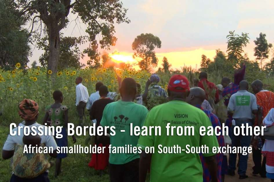 South-South exchange: learnings by smallholder families from Uganda and Kenya