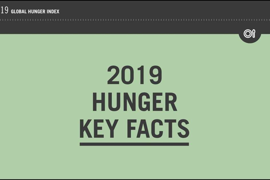 2019 Hunger Key Facts
