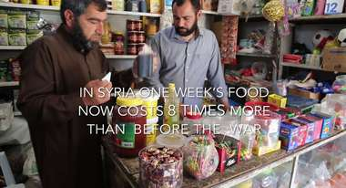 Food vouchers for Syrian families