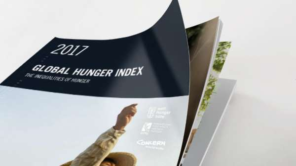 Cover: Global Hunger Index 2017