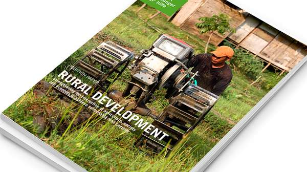 Cover: Position Paper - Rural Development