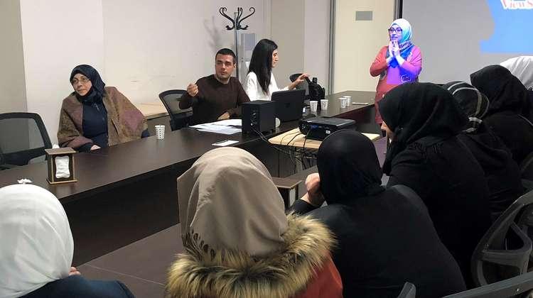 Meeting of the RASAS women's refugee council