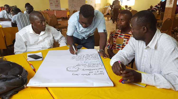 "Workshop of the ""Land for Life"" project 2018 in Sierra Leone"