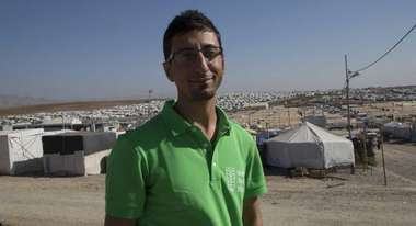 Imad Haji in Bajed Kandala camp
