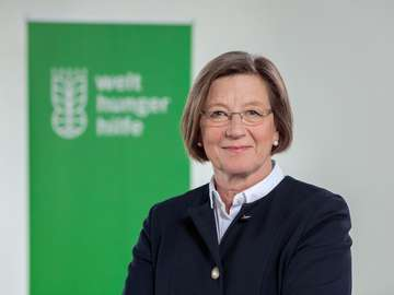 Marlehn Thieme is President of Welthungerhilfe