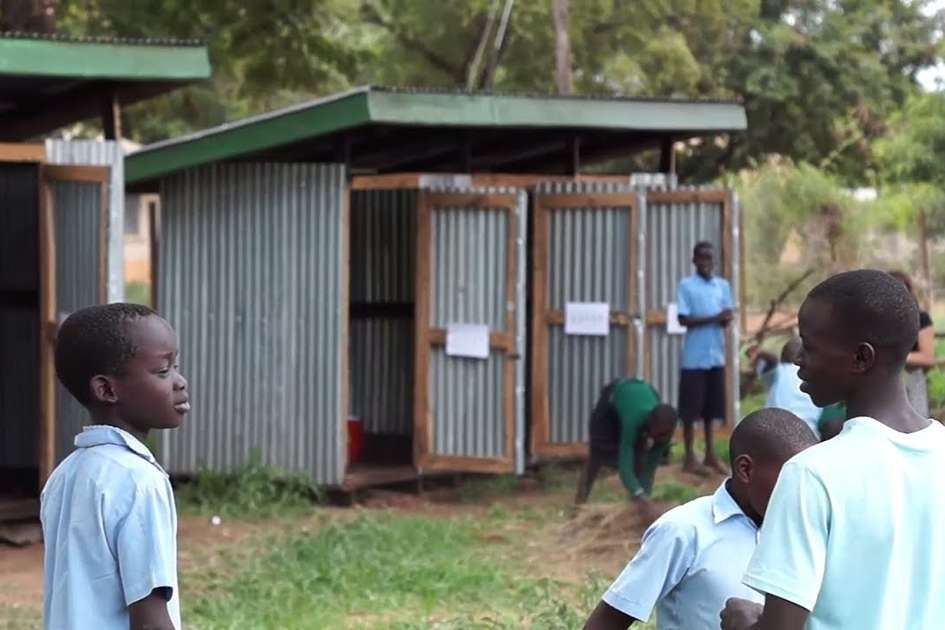 Compost toilets in Uganda