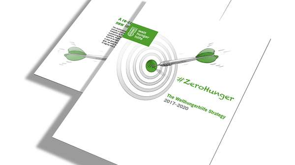 Cover: The Welthungerhilfe Strategy 2017-2020 - #ZeroHunger