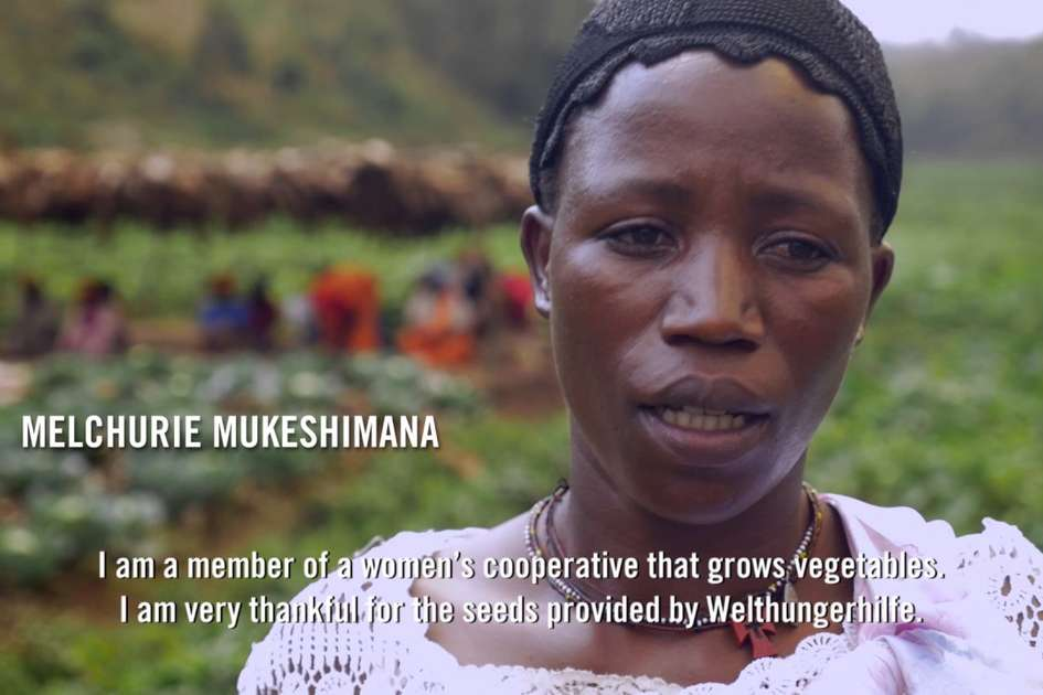 More vegetables, less hunger - farming project in Burundi